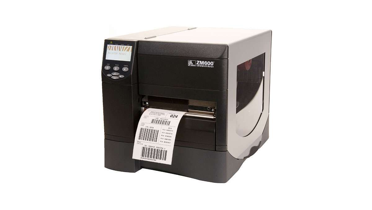 Printer Zebra ZT420 W&R Etiketten, member company Optimum Group